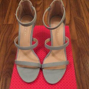 NIB Sexy Denim Sandal